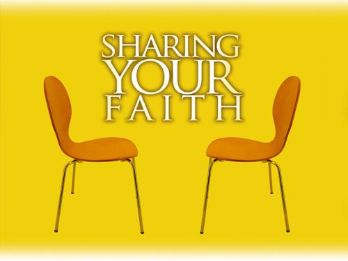 PowerPoint Template on Sharing Your Faith