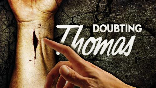 view the PowerPoint Template Doubting Thomas Touch