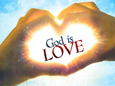 God is Love PowerPoint Template