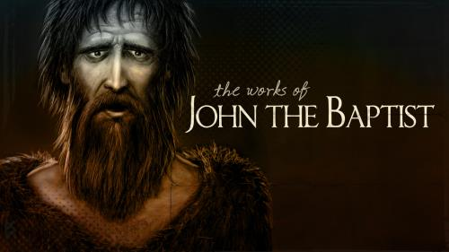 view the PowerPoint Template John The Baptist
