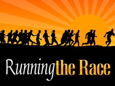 PowerPoint Template on Running The Race