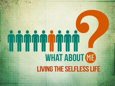PowerPoint Template on Selfless Life