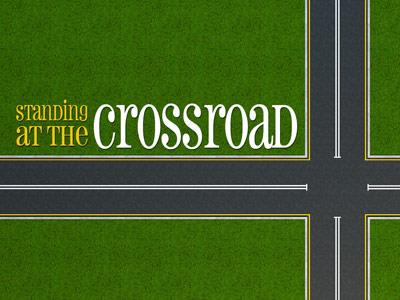PowerPoint Template on Standing At The Crossroad
