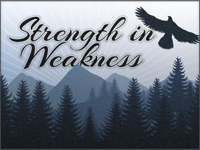 PowerPoint Template on Strength In Weakness