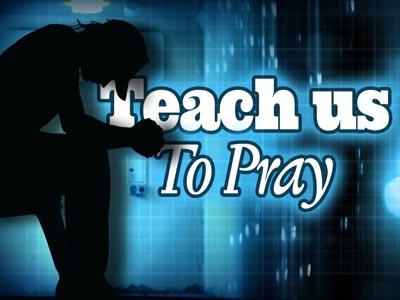 view the PowerPoint Template Teach Us To Pray