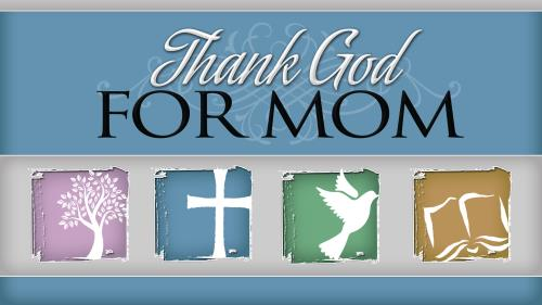 PowerPoint Template on Thank God For Mom