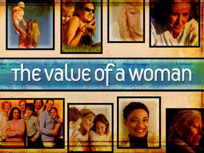 PowerPoint Template on Value Of A Woman