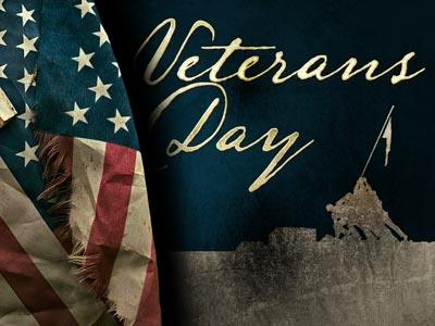 PowerPoint Template on Veterans Day Memorial