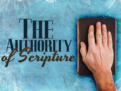 view the PowerPoint Template The Authority Of Scripture