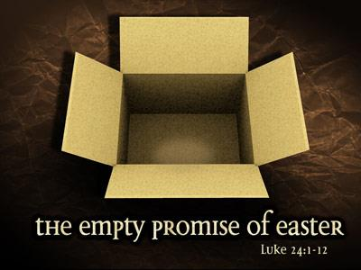 view the PowerPoint Template The Empty Promises Of Easter