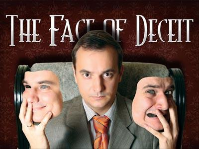 view the PowerPoint Template The Face Of Deceit