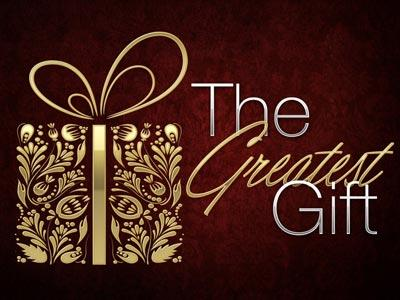 PowerPoint Template on The Greatest Gift