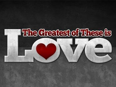 view the PowerPoint Template The Greatest Of These Is Love
