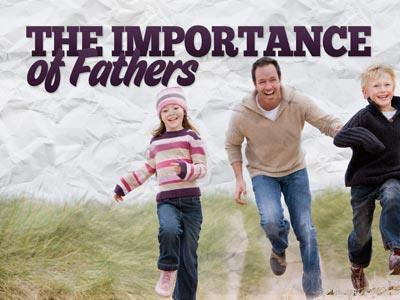 PowerPoint Template on The Importance Of Fathers
