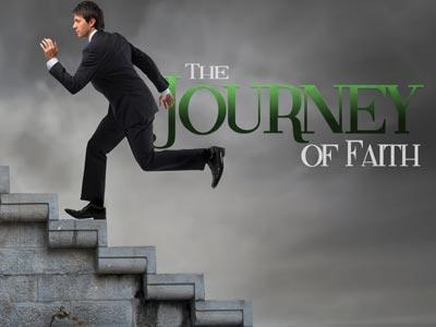 PowerPoint Template on The Journey Of Faith
