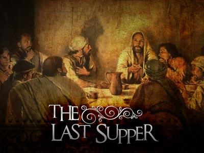 view the PowerPoint Template The Last Supper