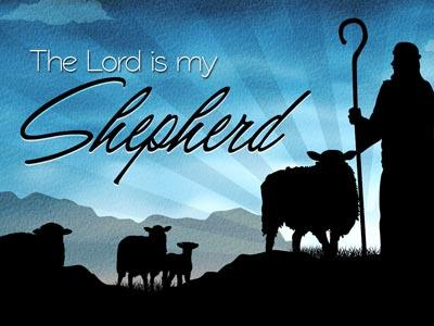 PowerPoint Template on The Lord Is My Shepherd