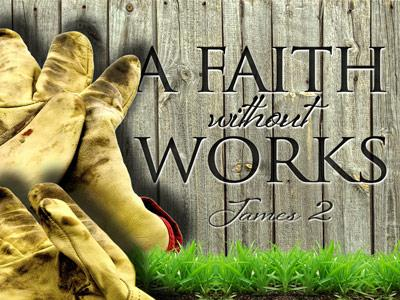 PowerPoint Template on A  Faith  Without  Works