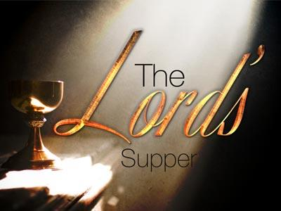PowerPoint Template on The Lord's Supper