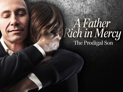 PowerPoint Template on A  Father  Rich In  Mercy