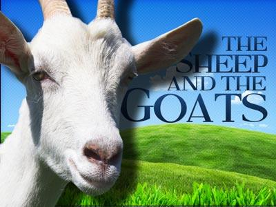view the PowerPoint Template The Sheep And The Goats