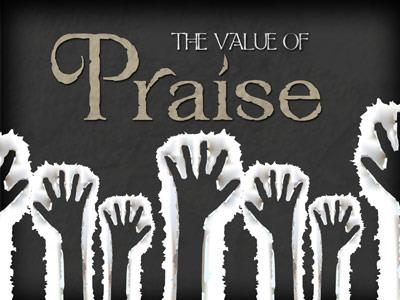 view the PowerPoint Template The Value Of Praise