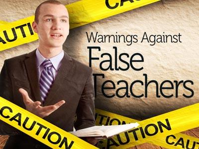 PowerPoint Template on Warnings Against False Teachers