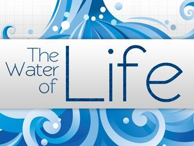 PowerPoint Template on Water Of Life