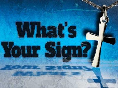 view the PowerPoint Template What's Your Sign
