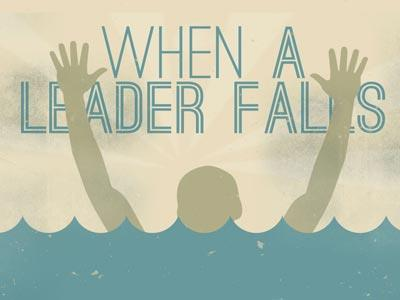 view the PowerPoint Template When A Leader Falls