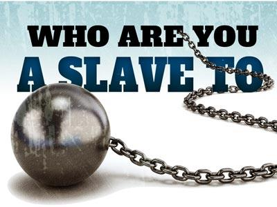 PowerPoint Template on Who Are You A Slave To
