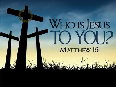 PowerPoint Template on Who Is Jesus To You
