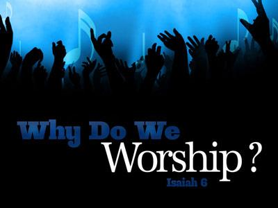 view the PowerPoint Template Why Do We Worship