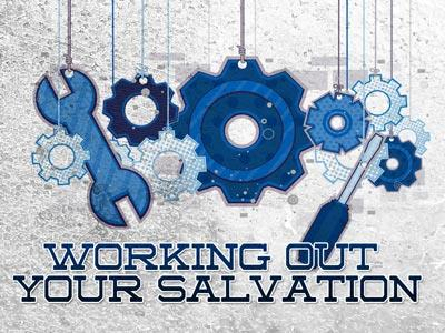 PowerPoint Template on Working Out Your Salvation