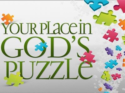 Your Place in God's Puzzle Preaching Slide