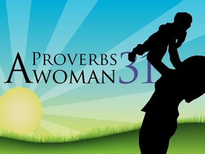 PowerPoint Template on A  Proverbs 31  Woman