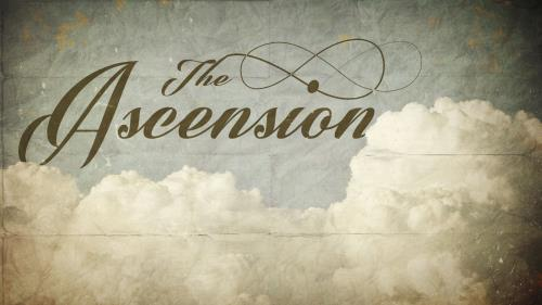 Ascension Clouds Preaching Slide