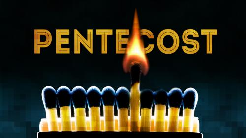 PowerPoint Template on Pentecost Matches