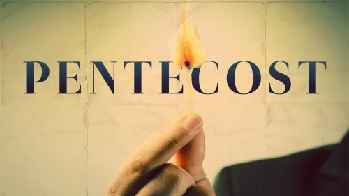 PowerPoint Template on Pentecost Match