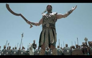 view the Video Illustration David And Goliath From The Bible Mini-Series