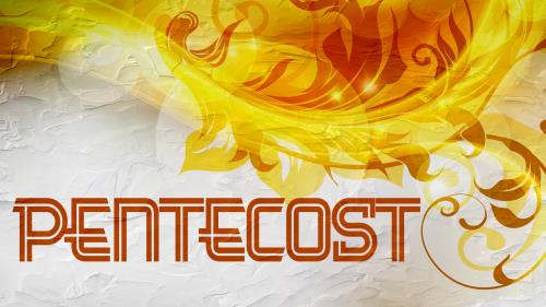 PowerPoint Template on Pentecost