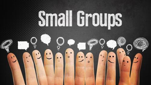 PowerPoint Template on Small Groups