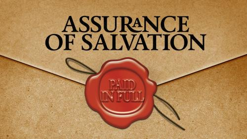 view the PowerPoint Template Assurance Of Salvation