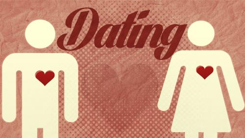 PowerPoint Template on Dating