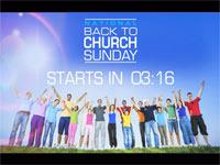 Countdown Video on Back To Church Sunday (10 Minutes)
