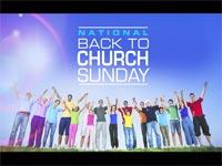 Motion Background on Back To Church Sunday - Crowd Wave