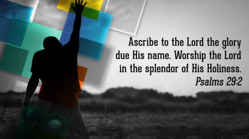 Video Illustration on Worship Scriptures Worship Intro