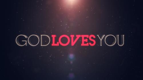 Video Illustration on God Loves You Worship Intro