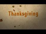Video Illustration on Thanksgiving Equals Action
