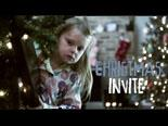 Video Illustration on Christmas Invite
